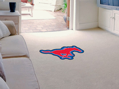 "NCAA Officially licensed Southern Methodist University Mascot Mat 40"" x 22.5"" Looking for a unique rug to decorate your home"