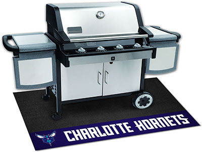 "NBA Officially licensed products Charlotte Hornets Grill Mat 26""x42"" Are you a die-hard sports fan that likes to show off yo"