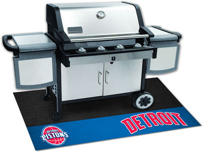 "NBA Officially licensed products Detroit Pistons Grill Mat 26""x42"" Are you a die-hard sports fan that likes to show off your"