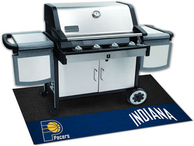 "NBA Officially licensed products Indiana Pacers Grill Mat 26""x42"" Are you a die-hard sports fan that likes to show off your"