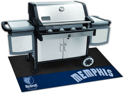 "NBA Officially licensed products Memphis Grizzlies Grill Mat 26""x42"" Are you a die-hard sports fan that likes to show off yo"