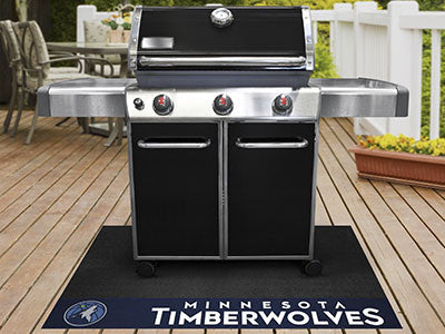 "NBA Officially licensed products Minnesota Timberwolves Grill Mat 26""x42"" Are you a die-hard sports fan that likes to show o"