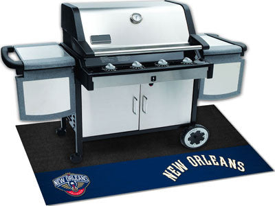 "NBA Officially licensed products New Orleans Pelicans Grill Mat 26""x42"" Are you a die-hard sports fan that likes to show off"