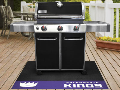"NBA Officially licensed products Sacramento Kings Grill Mat 26""x42"" Are you a die-hard sports fan that likes to show off you"