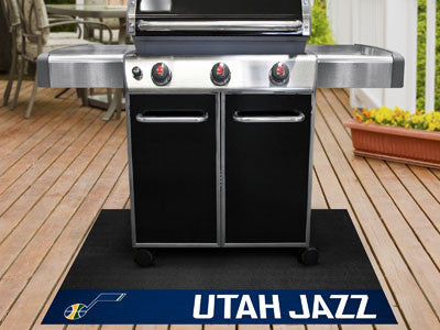 "NBA Officially licensed products Utah Jazz Grill Mat 26""x42"" Are you a die-hard sports fan that likes to show off your team"