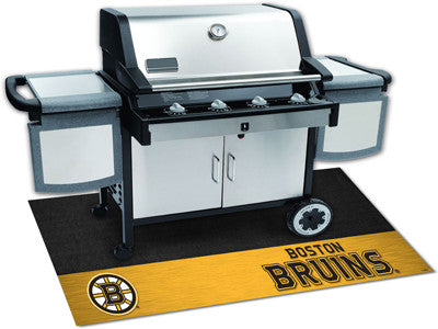 "NHL Officially licensed products Boston Bruins Grill Mat 26""x42"" Are you a die-hard sports fan that likes to show off your t"