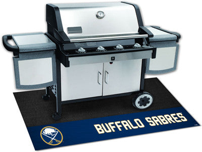 "NHL Officially licensed products Buffalo Sabres Grill Mat 26""x42"" Are you a die-hard sports fan that likes to show off your"
