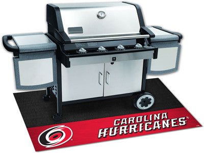 "NHL Officially licensed products Carolina Hurricanes Grill Mat 26""x42"" Are you a die-hard sports fan that likes to show off"