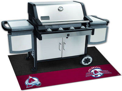 "NHL Officially licensed products Colorado Avalanche Grill Mat 26""x42"" Are you a die-hard sports fan that likes to show off y"