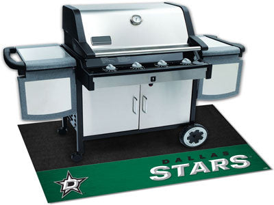 "NHL Officially licensed products Dallas Stars Grill Mat 26""x42"" Are you a die-hard sports fan that likes to show off your te"