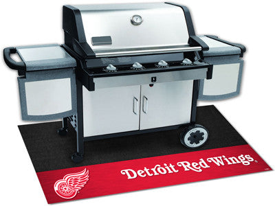 "NHL Officially licensed products Detroit Red Wings Grill Mat 26""x42"" Are you a die-hard sports fan that likes to show off yo"