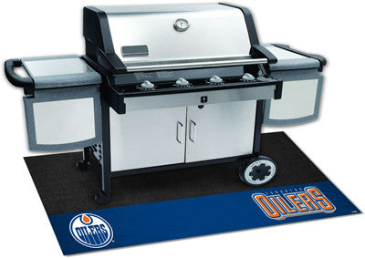 "NHL Officially licensed products Edmonton Oilers Grill Mat 26""x42"" Are you a die-hard sports fan that likes to show off your"