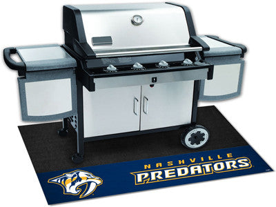 "NHL Officially licensed products Nashville Predators Grill Mat 26""x42"" Are you a die-hard sports fan that likes to show off"