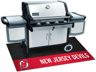 "NHL Officially licensed products New Jersey Devils Grill Mat 26""x42"" Are you a die-hard sports fan that likes to show off yo"