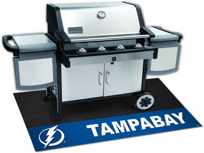 "NHL Officially licensed products Tampa Bay Lightning Grill Mat 26""x42"" Are you a die-hard sports fan that likes to show off"