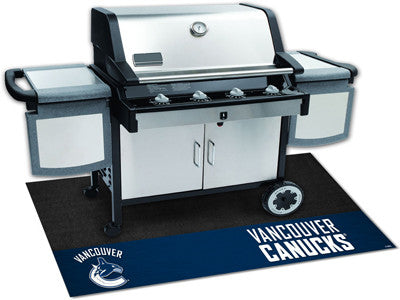 "NHL Officially licensed products Vancouver Canucks Grill Mat 26""x42"" Are you a die-hard sports fan that likes to show off yo"