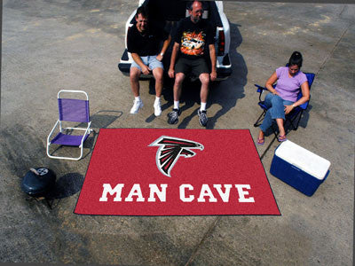 NFL Officially licensed products Atlanta Falcons Man Cave UltiMat 5'x8' Rug Celebrate your fandom with a Man Cave mat from S