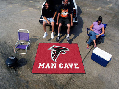 NFL Officially licensed products Atlanta Falcons Man Cave Tailgater Rug 5'x6' Celebrate your fandom with a Man Cave mat from