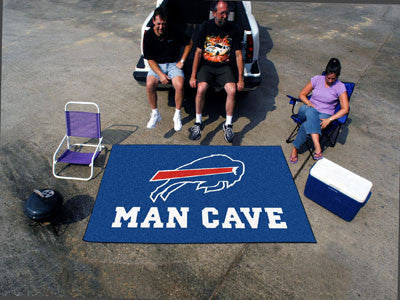 NFL Officially licensed products Buffalo Bills Man Cave UltiMat 5'x8' Rug Celebrate your fandom with a Man Cave mat from SLS