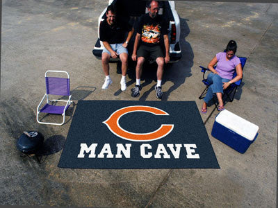 NFL Officially licensed products Chicago Bears Man Cave UltiMat 5'x8' Rug Celebrate your fandom with a Man Cave mat from SLS