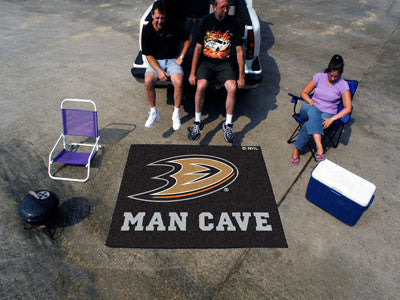 NHL Officially licensed products Anaheim Ducks Man Cave UltiMat 5'x8' Rug Celebrate your fandom with a Man Cave mat from Spo
