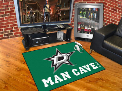 "NHL Officially licensed products Dallas Stars Man Cave All-Star Mat 33.75""x42.5"" Celebrate your fandom with a Man Cave mat f"