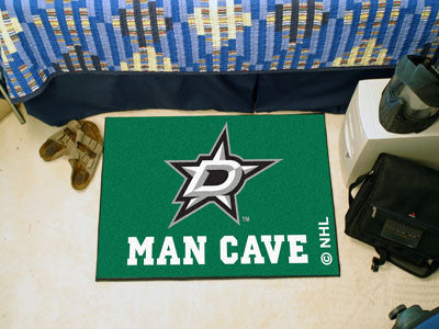 "NHL Officially licensed products Dallas Stars Man Cave Starter Rug 19""x30"" Celebrate your fandom with a Man Cave mat from Sp"