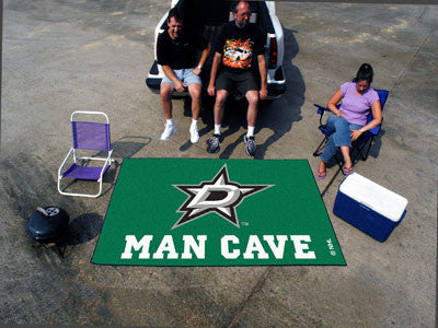 NHL Officially licensed products Dallas Stars Man Cave UltiMat 5'x8' Rug Celebrate your fandom with a Man Cave mat from Spor