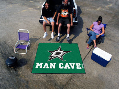 NHL Officially licensed products Dallas Stars Man Cave Tailgater Rug 5'x6' Celebrate your fandom with a Man Cave mat from Sp