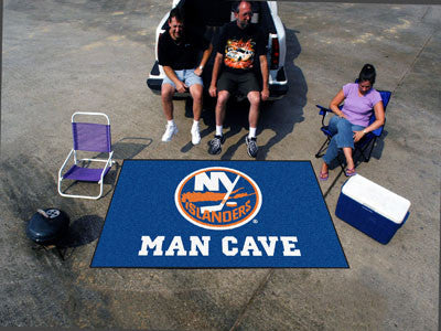 NHL Officially licensed products New York Islanders Man Cave UltiMat 5'x8' Rug Celebrate your fandom with a Man Cave mat fro