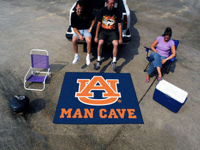 "NCAA Officially licensed Auburn University Man Cave Tailgater 59.5""x71"" Celebrate your fandom with a Man Cave mat from Sport"