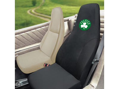 "NBA Officially licensed products Boston Celtics Seat Cover 20""x48"" Protect your seats and make a statement with embroidered"
