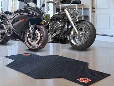 "NCAA Officially licensed Auburn University Motorcycle Mat 82.5"" L x 42"" W Show off your team pride with Sports Licensing Sol"