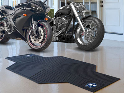 "NCAA Officially licensed University of Connecticut Motorcycle Mat 82.5"" L x 42"" W Show off your team pride with Sports Licen"