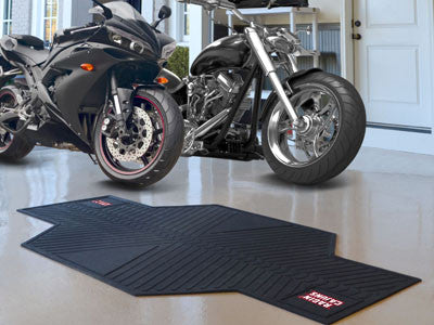"NCAA Officially licensed University of Louisiana-Lafayette Motorcycle Mat 82.5"" L x 42"" W Show off your team pride with Spor"