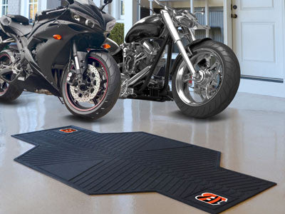 "NFL Officially licensed products Cincinnati Bengals Motorcycle Mat 82.5""x42"" Show off your team pride with SLSrts Licensing"