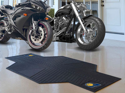 "NBA Officially licensed products Indiana Pacers Motorcycle Mat 82.5""x42"" Show off your team pride with Sports Licensing Solu"
