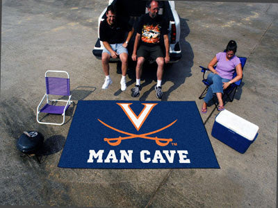"NCAA Officially licensed University of Virginia Man Cave UltiMat 59.5""x94.5"" Celebrate your fandom with a Man Cave mat from"