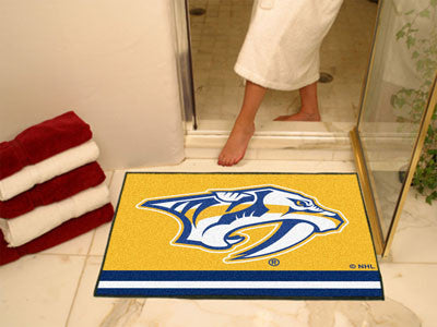 "NHL Officially licensed products Nashville Predators All-Star Mat 33.75""x42.5"" Join the All-Star team and decorate your home"