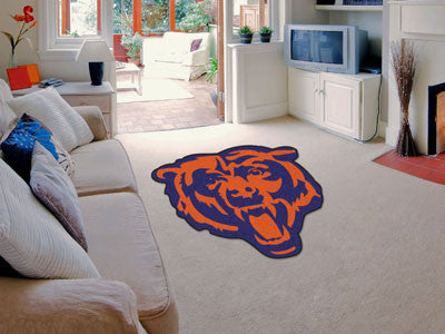 NFL Officially licensed products Chicago Bears Mascot Mat Looking for a unique rug to decorate your home or office with? Mas