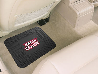 "NCAA Officially licensed University of Louisiana-Lafayette Utility Mat 36"" x 33.3"" Boast your team colors with backseat Util"