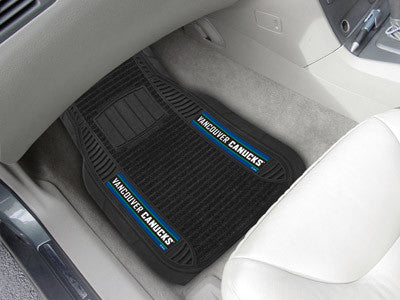 "NHL Officially licensed products Vancouver Canucks Deluxe Mat 21""x27"" Deluxe Car Mats are perfect for anyone who is serious"