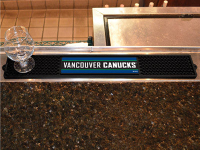 "NHL Officially licensed products Vancouver Canucks Drink Mat 3.25""x24"" Keep your freshly crafted drinks safe with our new of"
