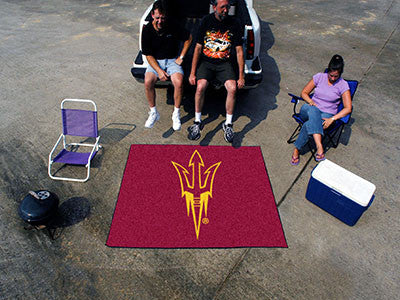"NCAA Officially licensed Arizona State University Tailgater Mat 59.5""x71"" Start showing off your team pride with a Tailgater"
