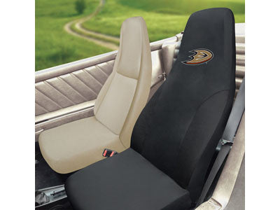 "NHL Officially licensed products Anaheim Ducks Seat Cover 20""x48"" Protect your seats and make a statement with embroidered S"