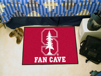 "NCAA Officially licensed Stanford University Fan Cave Starter 19""x30"" Celebrate your fandom with a Fan Cave mat from Sports"