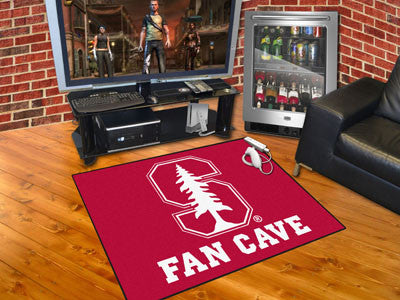 "NCAA Officially licensed Stanford University Fan Cave All-Star 33.75""x42.5"" Celebrate your fandom with a Fan Cave mat from S"