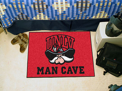 "NCAA Officially licensed University of Nevada, Las Vegas (UNLV) Man Cave Starter 19""x30"" Celebrate your fandom with a Man Ca"