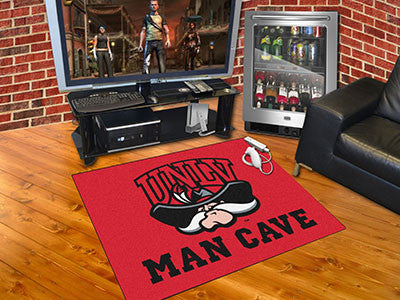 "NCAA Officially licensed University of Nevada, Las Vegas (UNLV) Man Cave All-Star 33.75""x42.5"" Celebrate your fandom with a"