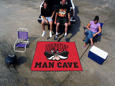 "NCAA Officially licensed University of Nevada, Las Vegas (UNLV) Man Cave Tailgater 59.5""x71"" Celebrate your fandom with a Ma"